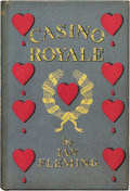 Books:Signed Editions, Ian Fleming. Casino Royale. London: Jonathan Cape, [1953]..First edition. Provocatively inscribed by Flemin...