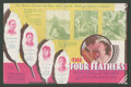 "Movie Posters:Adventure, The Four Feathers (Paramount, 1929). Herald ( Folded Out, 6"" X 9"").Adventure.. ..."