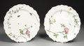 Ceramics & Porcelain, Continental:Modern  (1900 1949)  , A PAIR OF FRENCH FAIENCE PLATES. 20th Century. 9-7/8 inches (25.1 cm) diameter, each. ... (Total: 2 Items)