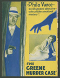 "Movie Posters:Mystery, The Greene Murder Case (Paramount, 1929). Herald (Folded Out, 5.5""X 8""). Mystery.. ..."