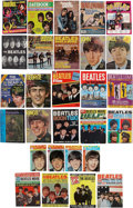 Music Memorabilia:Memorabilia, The Beatles-Related Vintage Magazine Collection.... (Total: 28 )