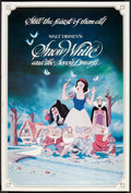 "Movie Posters:Animated, Snow White and the Seven Dwarfs (Buena Vista, R-1983) Poster (40"" X60""). Animated.. ..."