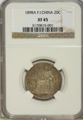 French Indo-China, French Indo-China: French Colony 20 Centimes 1898-A,...