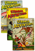 Golden Age (1938-1955):Science Fiction, Strange Adventures Group (DC, 1954-55) Condition: Average VG....(Total: 6 Comic Books)