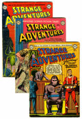 Golden Age (1938-1955):Science Fiction, Strange Adventures Group (DC, 1952-54) Condition: Average VG-....(Total: 8 Comic Books)