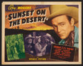 """Movie Posters:Western, Sunset on the Desert (Republic, 1942). Lobby Card Set of 8 (11"""" X 14""""). Western.. ... (Total: 8 Items)"""