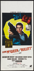 "Movie Posters:Action, Bullitt (Warner Brothers, 1968). Italian Locandina (13"" X 27"").Action.. ..."