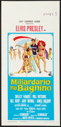 "Movie Posters:Elvis Presley, Clambake (United Artists, 1968). Italian Locandina (13"" X 27"").Elvis Presley.. ..."