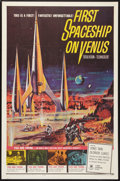 "Movie Posters:Science Fiction, First Spaceship on Venus (Crown International, 1962). One Sheet(27"" X 41""). Science Fiction.. ..."