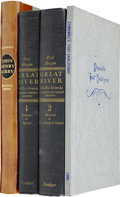 Books:First Editions, Three Texas Items, including: Paul Horgan. Great River. NewYork: Rinehart & Company, 1954. First trade edition.... (Total:4 Items)