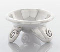 Silver Holloware, Mexican:Holloware, A MEXICAN SILVER FOOTED BOWL. William Spratling, Taxco, Mexico, circa 1940. Marks: SPRATLING MADE IN MEXICO (circling)...