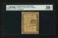 Colonial Notes:Pennsylvania, Pennsylvania July 20, 1775 30s PMG About Uncirculated 50 EPQ....