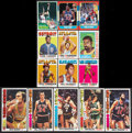 Basketball Cards:Lots, 1971-1986 Basketball Cards Group Lot of 14. ...