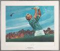 Golf Collectibles:Autographs, Jack Nicklaus Living Legends Signed Print. ...