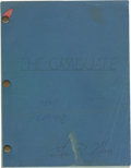 Movie/TV Memorabilia:Autographs and Signed Items, The Graduate Script, Signed by Set Decorator George R.Nelson. ...