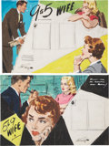 Original Comic Art:Miscellaneous, Arthur Sarnoff Preliminary Illustration Original Art Group(undated).. ... (Total: 4 Items)