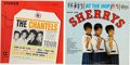 Music Memorabilia:Recordings, Chantels and Sherrys LP Group of 2 (1962).. ... (Total: 2 Items)