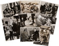 Movie/TV Memorabilia:Photos, Franklin D. Roosevelt Vintage Press Photos.... (Total: 8 )