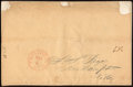 Stamps, 1843, November 7, Providence, R.I. to New Hampton, N.H....