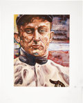 Baseball Collectibles:Others, Ty Cobb Hand Embellished Giclee Print....