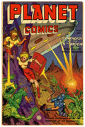 Golden Age (1938-1955):Science Fiction, Planet Comics #68 (Fiction House, 1952) Condition: VG+....