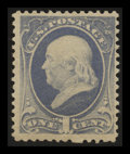 Stamps, 1c Gray Blue (206),...