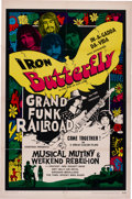 Music Memorabilia:Posters, Musical Mutiny and Weekend Rebellion Movie Poster (Cinetron,1970)...