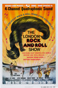 Music Memorabilia:Posters, The London Rock and Roll Show Movie Poster (Ellman FilmEnterprises/Aion Films, 1975)....