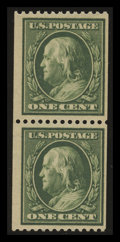 Stamps, 1c Green (385),...