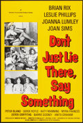 """Movie Posters:Comedy, Don't Just Lie There, Say Something (Rank, 1973). One Sheet (27"""" X 41""""). Comedy.. ..."""
