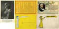 Political:Small Paper (1896-present), Woman's Suffrage: Lot of Five Miscellaneous Postcards.... (Total: 5 Items)