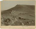 "Photography:Cabinet Photos, [Western Americana] William Henry Jackson Albumen Print ""The 'W'Pike's Peak Carriage Road"", Circa 1880...."