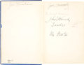 Autographs:U.S. Presidents, John F. Kennedy Signed (as a Student) Copy of Cyrano deBergerac, by Edmond Rostand. (New York: Henry Holt and Com...