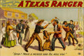 "Antiques:Posters & Prints, ""A Texas Ranger- Stop! Move a Muscle and I'll Kill You."" TheGreatest Show of the Plains Poster...."