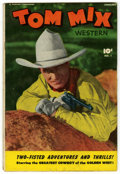 Golden Age (1938-1955):Western, Tom Mix Western #1 (Fawcett, 1948) Condition: GD/VG....