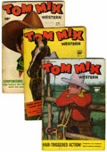 Golden Age (1938-1955):Western, Tom Mix Western Group (Fawcett, 1948-49) Condition: Average GD/VG.... (Total: 16 Comic Books)