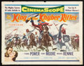 "Movie Posters:Adventure, King of the Khyber Rifles (20th Century Fox, 1954). Half Sheet (22""X 28""). Adventure.. ..."
