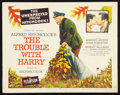 """Movie Posters:Hitchcock, The Trouble With Harry (Paramount, 1955). Half Sheet (22"""" X 28""""). Hitchcock.. ..."""