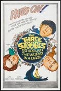 """Movie Posters:Comedy, The Three Stooges Go Around the World in a Daze (Columbia, 1963). One Sheet (27"""" X 41""""). Comedy.. ..."""
