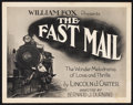"Movie Posters:Western, The Fast Mail (Fox, 1922). Title Lobby Card and Lobby Cards (2)(11"" X 14""). Western.. ... (Total: 3 Items)"