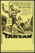 "Movie Posters:Adventure, Tarzan Stock Poster Lot (Paramount, 1960s). Poster (25"" X 39"") andStills (9) (8"" X 10""). Adventure.. ... (Total: 10 Items)"