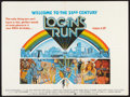 "Movie Posters:Science Fiction, Logan's Run (Cinema International, 1976). British Quad (30"" X 40""). Science Fiction.. ..."