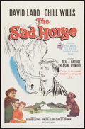 "Movie Posters:Children's, The Sad Horse (20th Century Fox, 1959). One Sheet (27"" X 41"").Children's.. ..."