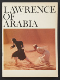 """Lawrence of Arabia (Columbia, 1962). Program (Multiple Pages, 9"""" X 12""""). War"""