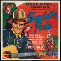 "Movie Posters:Western, Saddle Pals (Republic, 1947). Six Sheet (81"" X 81""). Western.. ..."