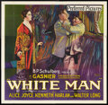 "Movie Posters:Drama, White Man (Preferred Pictures, 1924). Six Sheet (81"" X 81"").Drama.. ..."