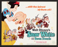 """Movie Posters:Animated, Snow White and the Seven Dwarfs (Buena Vista, R-1967). Lobby CardSet of 9 (11"""" X 14""""). Animated.. ... (Total: 9 Items)"""