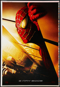 """Spider-Man (Columbia, 2002). Printer Proof Poster (28"""" X 41"""") Advance. Action"""