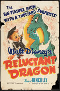 "Movie Posters:Animated, The Reluctant Dragon (RKO, 1941). One Sheet (27"" X 41""). Animated....."