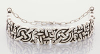A MEXICAN SILVER BRACELET William Spratling, Taxco, Mexico, circa 1940 Marks: SPRATLING MADE IN MEXICO <